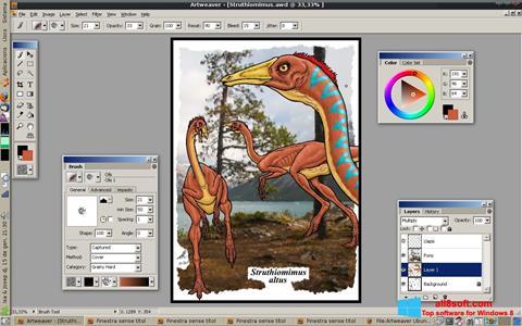 Ekran görüntüsü Artweaver Windows 8