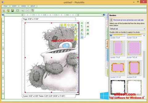 Ekran görüntüsü PhotoMix Collage Windows 8