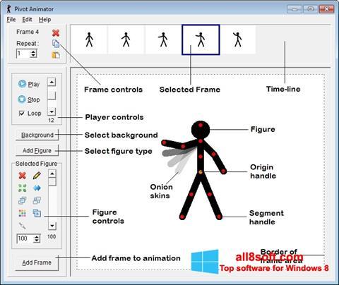 Ekran görüntüsü Pivot Animator Windows 8
