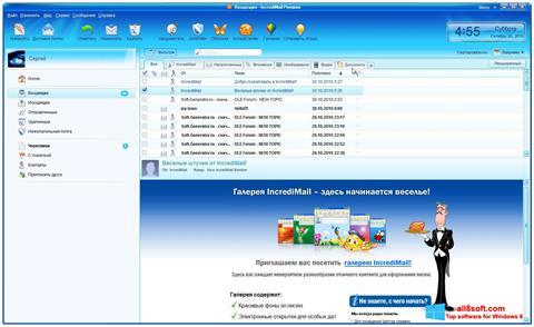 Ekran görüntüsü IncrediMail Windows 8