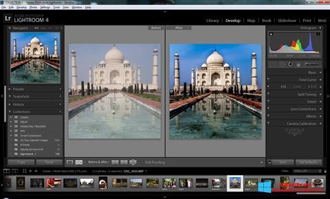 Ekran görüntüsü Adobe Photoshop Lightroom Windows 8