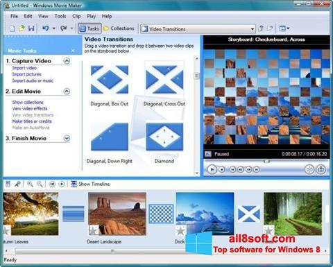 Ekran görüntüsü Windows Movie Maker Windows 8
