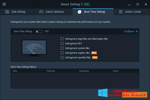 Ekran görüntüsü Smart Defrag Windows 8