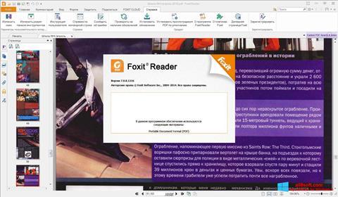 Ekran görüntüsü Foxit Reader Windows 8