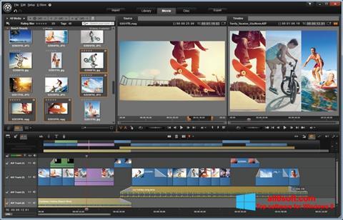 Ekran görüntüsü Pinnacle Studio Windows 8