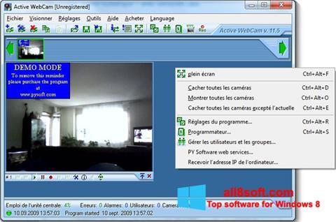 Ekran görüntüsü Active WebCam Windows 8