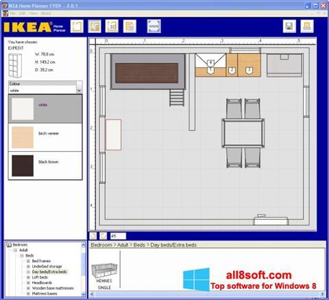 Ekran görüntüsü IKEA Home Planner Windows 8
