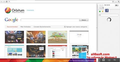 Ekran görüntüsü Orbitum Windows 8