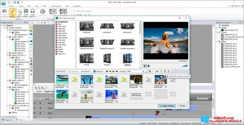 Ekran görüntüsü VSDC Free Video Editor Windows 8