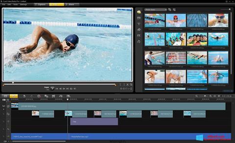 Ekran görüntüsü Corel VideoStudio Windows 8