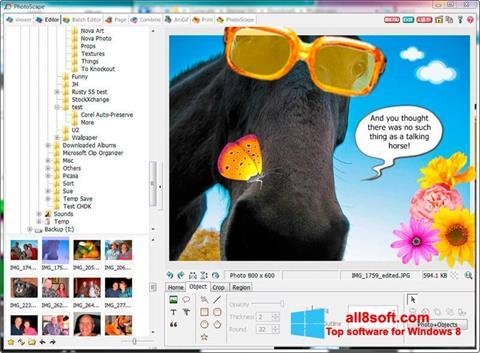 Ekran görüntüsü PhotoScape Windows 8