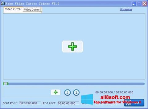 Ekran görüntüsü Free Video Cutter Windows 8