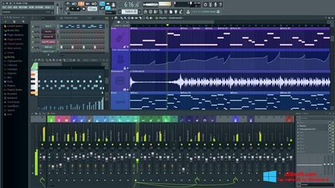 Ekran görüntüsü FL Studio Windows 8
