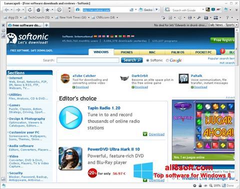 Ekran görüntüsü Lunascape Windows 8